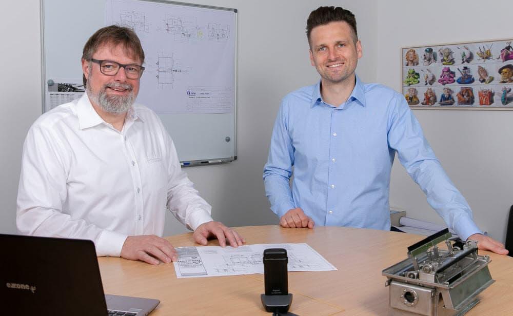 Stefan Fischer and Daniel Durain