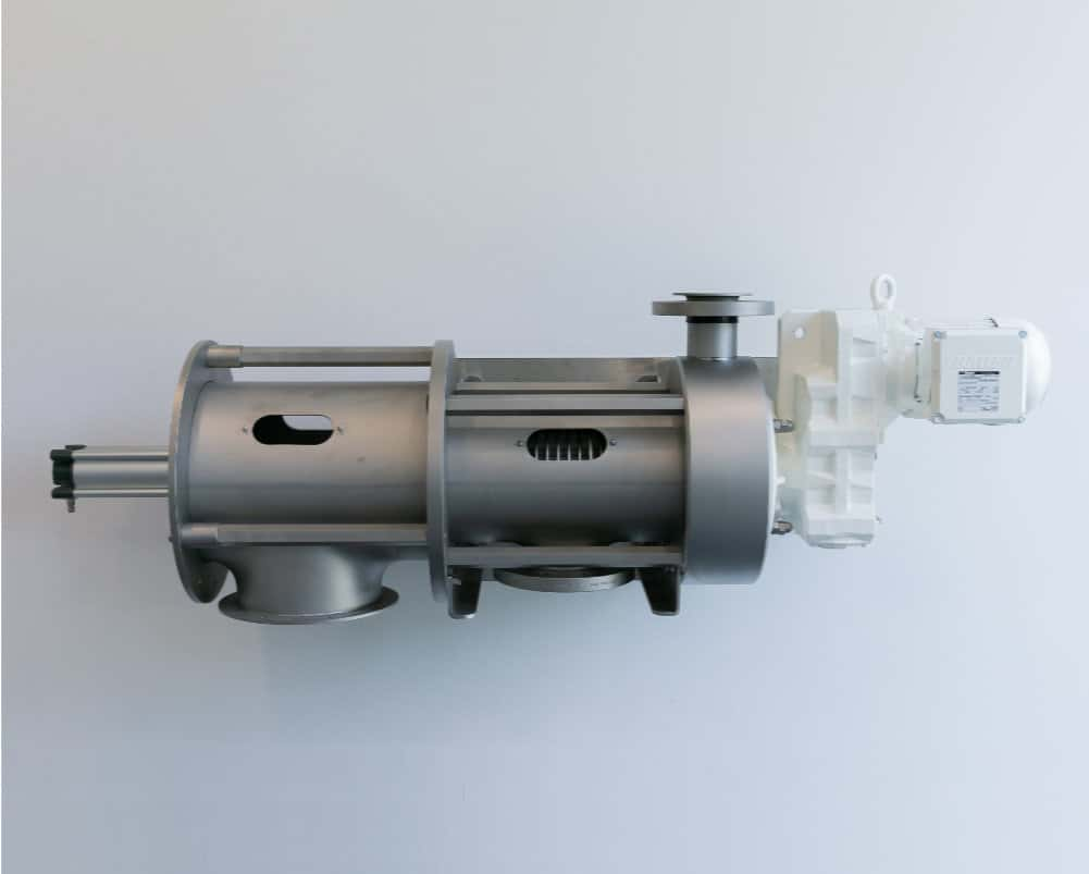 Screw separator ASF200 with encapsulated pressing zone